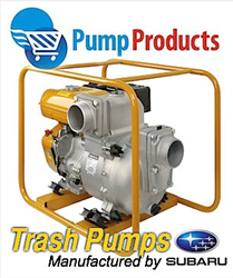 Pump Products Now Carries Subaru Trash Pumps