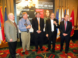 Dr. Shofner Receives Pro Patria Award March 2014
