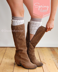 Grace & Lace Boot Cuffs