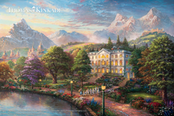 Image of the Sound of Music from The Thomas Kinkade Studios