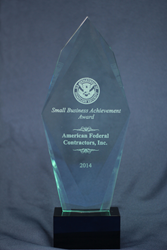 2014 DHS Small Business Award