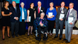 Susan Wayne, president and CEO of FSW, far left, and Edward Foley, chairman of FSW's board of directors, far right, recognize honorees for their years of commitment in creating a safer Westchester.