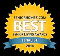 2014 Best Senior Living Awards Finalist Badge