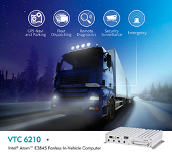 VTC6210 Fanless In-Vehicle Computer