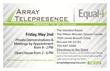 Array Telepresence Hosts Washington DC Open House May 2nd