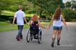Mothers on wheels photo series