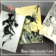 Selection of Mango Salute Greeting Cards - Mother's Day Cards
