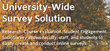 university wide survey solution