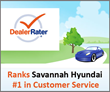 Savannah Hyundai Dealership Ranked Number One in Customer Service From...