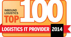 Blue Ridge Cloud Supply Chain Planning Solution recognized in the Inbound Logistics Top 100 Logistics IT Provider