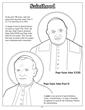 Two new Saints Pope John Paul II and John XXIII