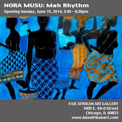 Nora Musu: Mah Rhythm @ Faie Afrikan Art Gallery