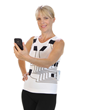HealthWatch Ltd. ECG wearable technology garment with smartphone for telemedicine