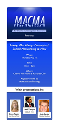 MACMA Event - Always On. Always Connected. Social Networking is Now.