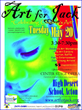 """Art for Jack"" event supporting pediatric brain tumor awareness and promoting the arts for children"