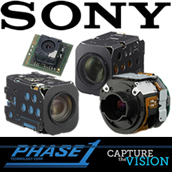 Phase 1 Technology and Sony Introduce Sony's New, Technically Advanced Block Cameras at AUVSI's Unmanned Systems 2014 www.phase1tech.com/auvsi