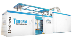 The Triform 32-10-12SC Deep Draw Sheet Hydroforming Press