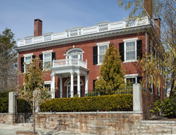 Large, stately residences in the Federal and Greek Revival-style are on view at the Festival of Historic Houses in Providence.