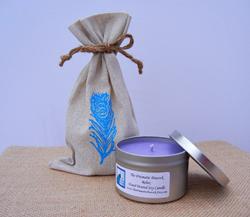 lavendear aromatherapy soy candle
