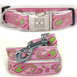 Fun Paisley Collar & Leash Set