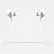 Vomo SM in White - In ear stereo headset