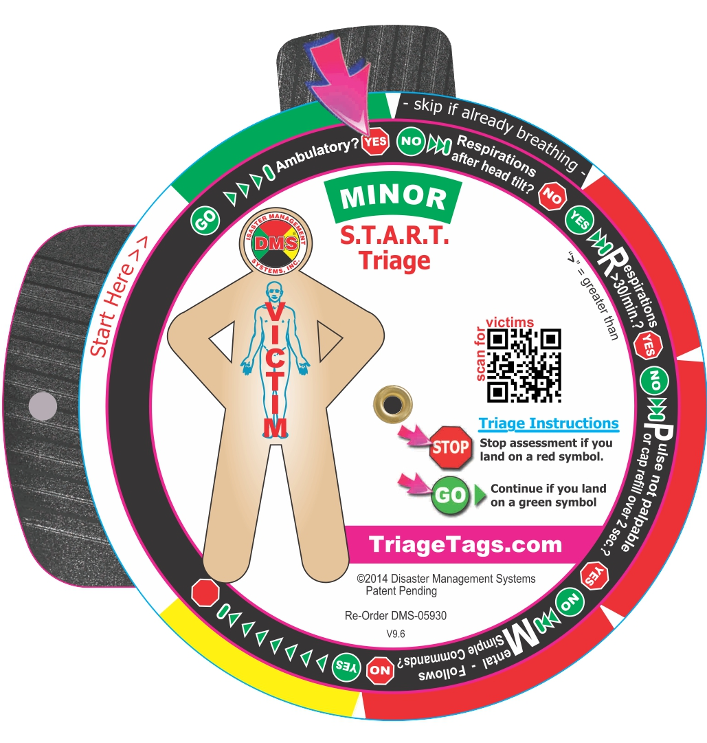 New S T A R T Triage Training Tool From Dms Simplifies