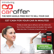 CarOffer™ Launches the Industry's First-ever Mobile Application Giving Consumers the Ability to Sell Their Vehicle Within Minutes from Their Smartphone Or Desktop