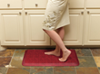 Kitchen Comfort mats reduce fatigue and discomfort from standing on hard flooring at home