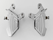 Demon's Cycle Receives New Custom Dresser Front 4 Piston Chrome Billet Brake Calipers