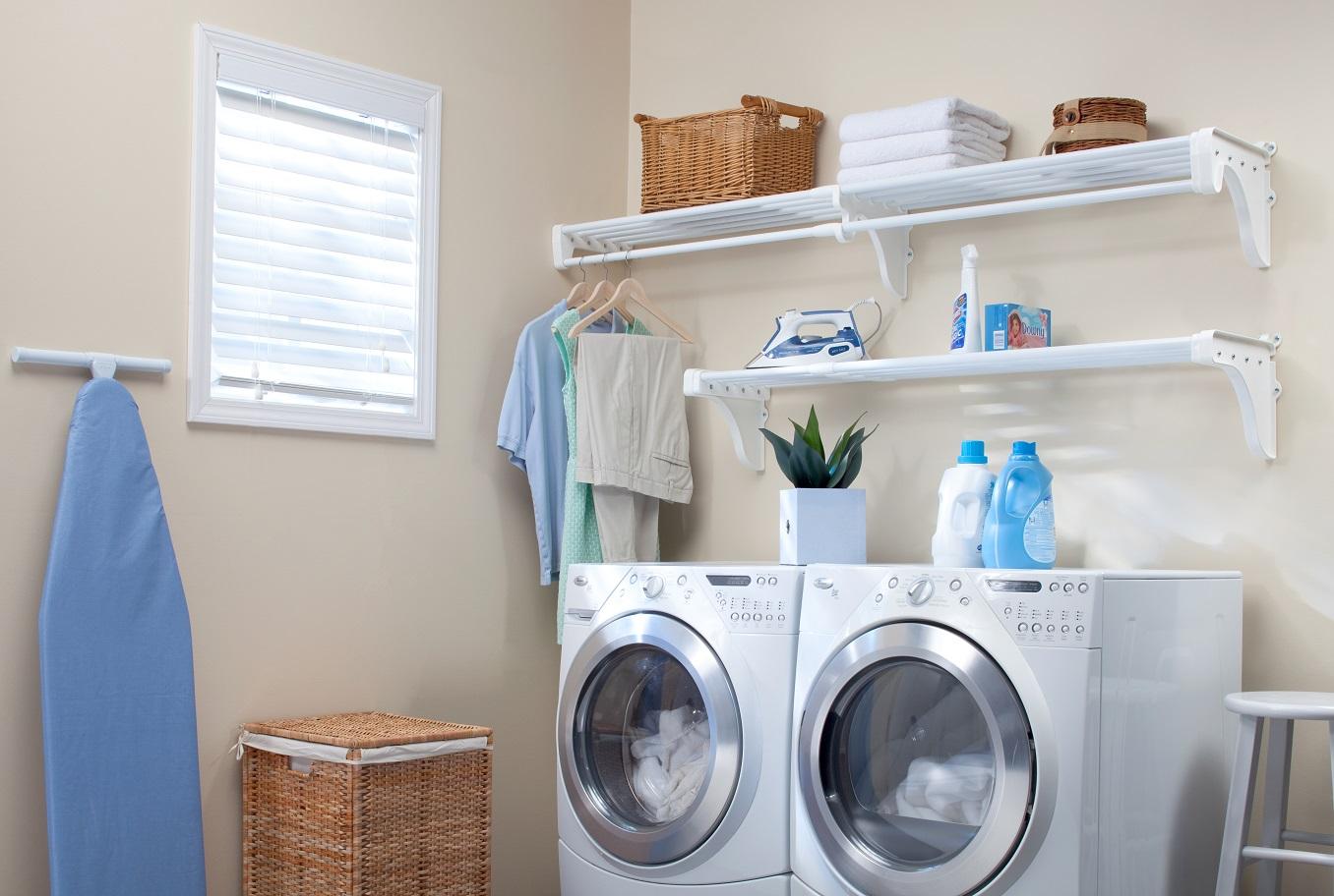 Shelves In Laundry Room Preferred Home Design