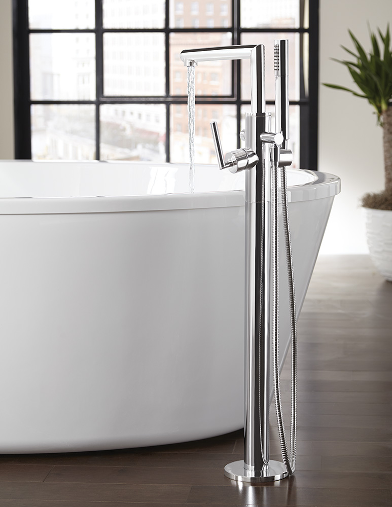 Moen Introduces Collection Of Freestanding Tub Filler Faucets