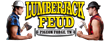 Lumberjack Feud Logo, Pigeon Forge Dinner Show, Must See