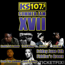 Tickets to Summer Jam