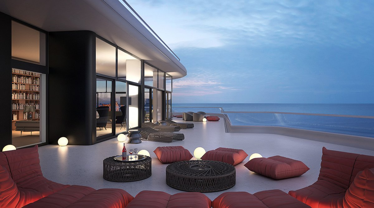 Miami Beach S Most Expensive Penthouse Has A Buyer Sets
