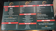 Sriracha House Restaurant on Miami's South Beach - menu