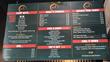 Sriracha House Restaurant on Miami's South Beach - menu