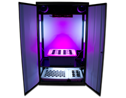 SuperCloset LED Grow Boxes Ship With The KIND LED