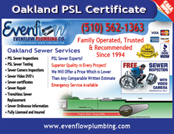 Sewer Repair in Oakland CA