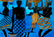 "Nora Musu's ""Working Women/Cobalt Blue"""