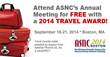 ASNC2014 Travel Awards