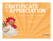 Certificate of Appreciation from Learning ZoneXpress