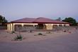 """Symphonic Design"" custom home in Frank Lloyd Wright manner"