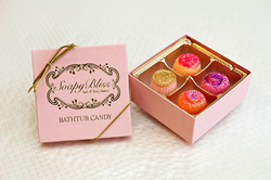 Box of Bubbly Bathtub Candies from SoapyBliss Bath & Body Bakery