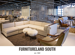 Furnitureland South's New Modern Furniture Gallery