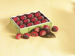 Find delicious chocolates made in the Swiss Colony candy kitchen