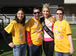 Honorary Ambassadors who are program participants at Easter Seals NJ pose with 2013 Miss New Jersey, Cara McCollum