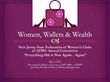 Women, Wallets & Wealth Program for New Jersey State Federation of Women's Clubs