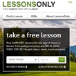 No Cost Guitar Lessons? LessonsOnly.com Gives Unique New Benefits to...