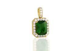 Avianne & Co. Emerald Pendant