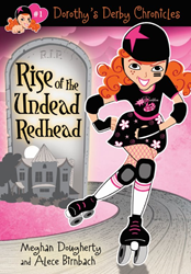 Dorothy's Derby Chronicles, Rise of the Undead Redhead, Rocky Mountain Rollergirls, roller derby, roller skating, youth sports